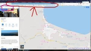 Google Map Koordinaten
