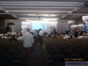 vor Beginn der Veranstaltung